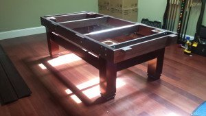 Correctly performing pool table installations, North Charleston South Carolina