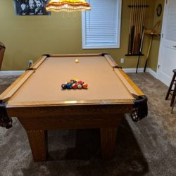 8 Ft Pool Table(SOLD)