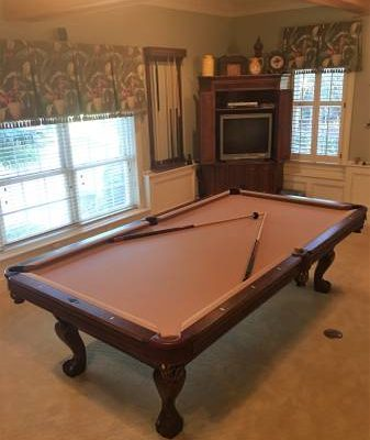 professional Brunswick Pool Table for Sale