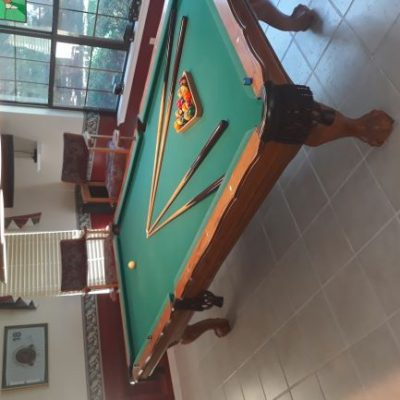 Custom 9' Gandy pool table